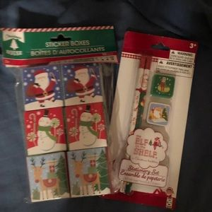 Elf on the Shelf Stationery Set with Stickers
